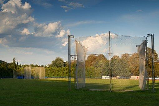 Stadium, Athletics, Network, Sport, Field, Lawn, Circle