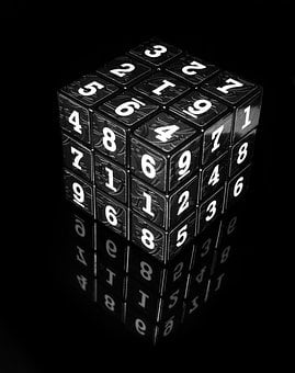 Cube, Numbers, Block, Game, Square, Entertainment