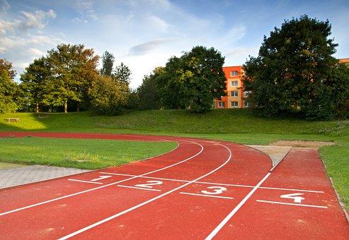 Stadium, Track, Sport, Field, Running, Sports