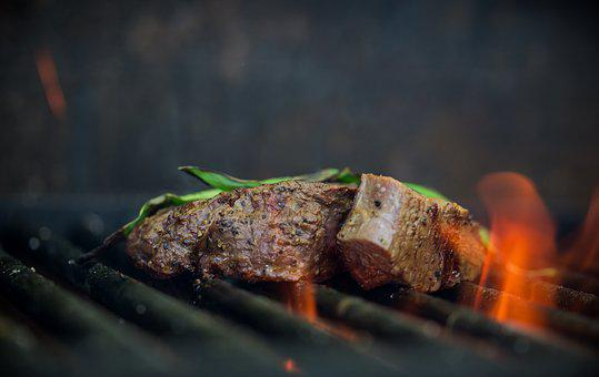 Grill, Meat, Fire, Eat, Cook, Meal, Delicious, Food