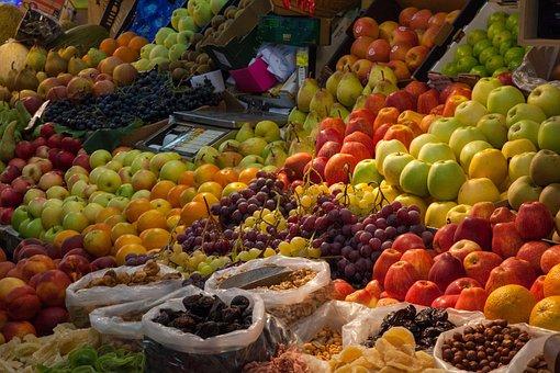 Fruit, Color, Colorful, Market, Fruits, Food