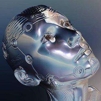 Robot, Artificial, Intelligence, Machine, Forward