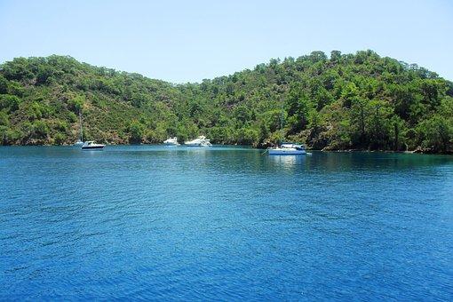 Scenic, Sea, Ocean, Nature, Water, Sky, Landscape
