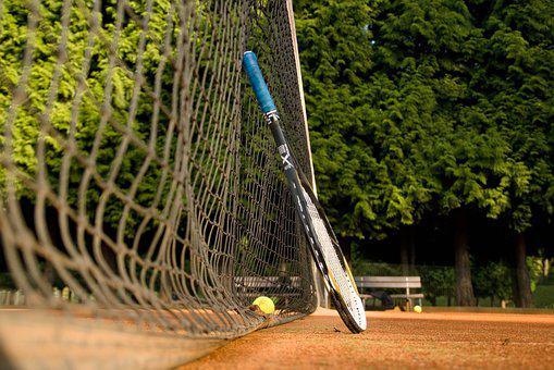 Tennis, Rocket, Ball, Clay, Network, Sport, Courts