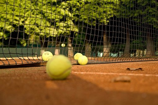 Tennis, Clay, Network, Ball, Sport, Courts, Game, Fun
