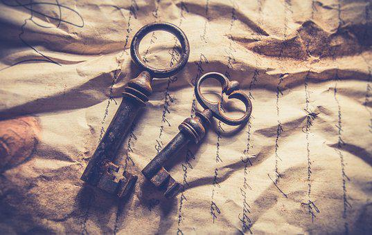 Key, Vintage, Old, Background, Retro, Photography, Rust