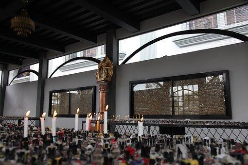 Candles, Faith, Church, Suyapa, Religion, Sanctuary