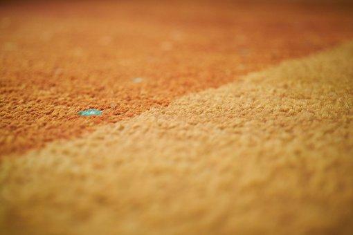 Carpet, Orange, Texture, Abstract, Macro, Design