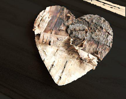 Heart, Wood, Love, Affection, Wooden Structure, Nature