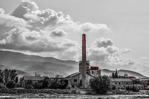 Factory, Old, Abandoned, Industrial, Building, Grunge