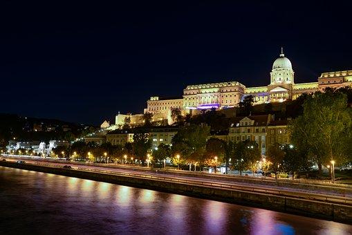 Budapest, Castle, Danube, Hungary, Architecture, Buda