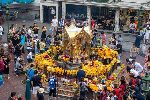 Bangkok, Thailand, Buddha, City, Travel, Asia, Urban