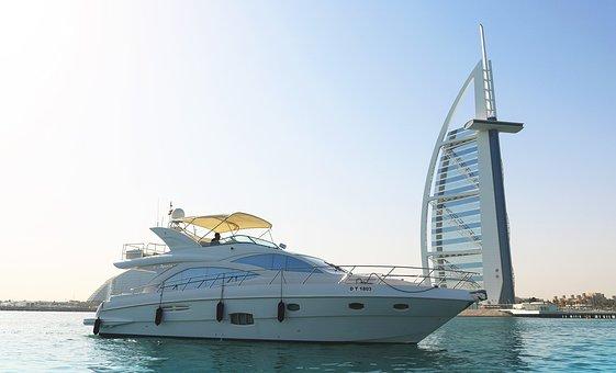 Burj Al Arab, Yacht At Burj Al Arab, Yacht Tour Dubai