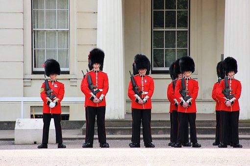 Changing Of The Guard, Security, London, Watch, Guard