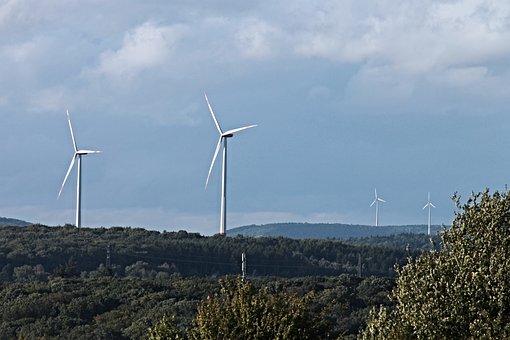 Windräder, Wind Energy, Wind Power, Energy, Sky