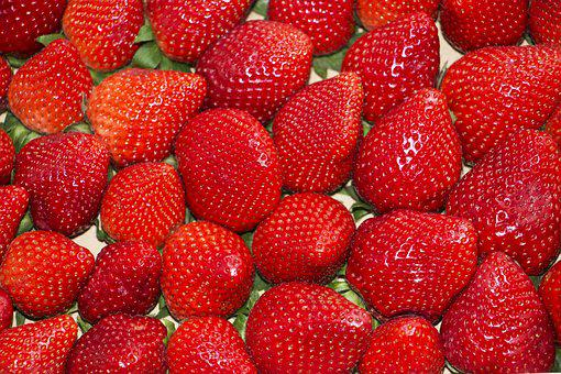 Background, Strawberry, Red, Fresh, Food, Juicy, Berry