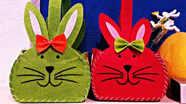 Hare, Easter, Toy, Ornament, Decoration, Bunny