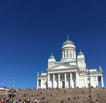 Church, Helsinki, Finland, Travel, Tourism