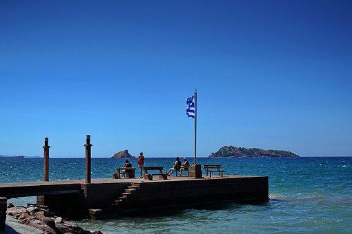 Greece, Island, Sea, Travel, Blue, Summer, Landscape
