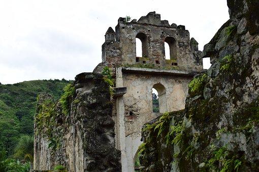 Ruins, Landscape, Costa Rica