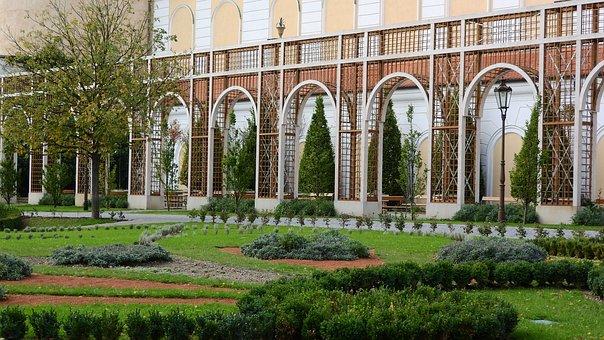 Mikulov Castle, Mikulov, Castle Garden