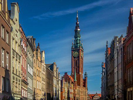 Gdańsk, The Town Hall, The Museum, Old Town, The Market