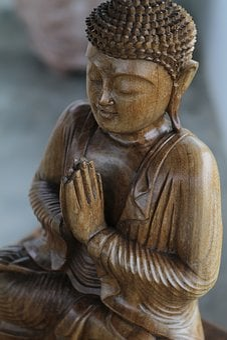 Buda, Wood, Religion, Face, Buddhism, Sculpture, Buddha