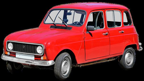 Renault R4, Classic, Oldtimer, Automotive, Auto