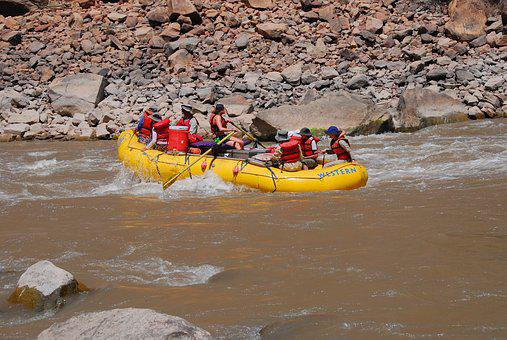 Whitewater, Rafting, River, Sport, Adventure, Wet
