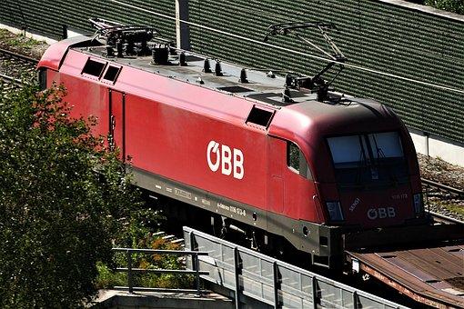 Railway, Electric Locomotive, Locomotive, Train