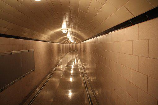 Tunnel, Away, Dam, The Unknown