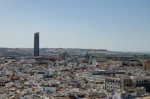 Sevilla, Views, Viewpoint, Architecture, Seville, City