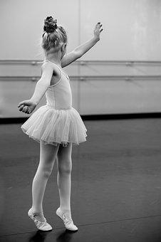 Young, Girl, Ballerina, Dance, Child, Female, People