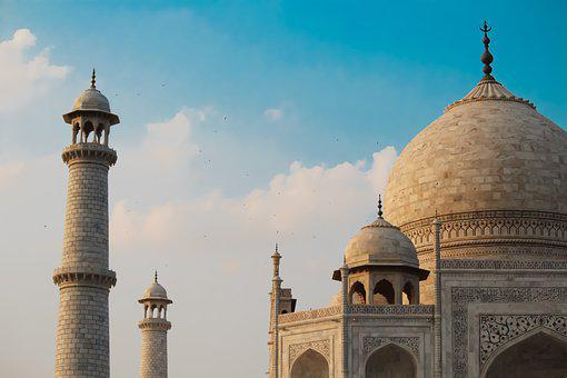 Tajmahal, Dome, Indian, Agra, Taj, Architecture, Mahal