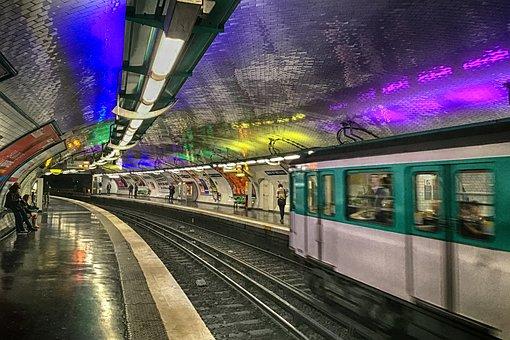 Paris, Metro, Station, France, Arts Et Metiers