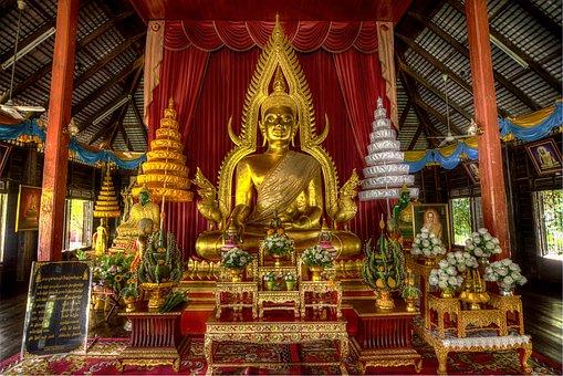 Buddha Statue, Buddhism, Thailand