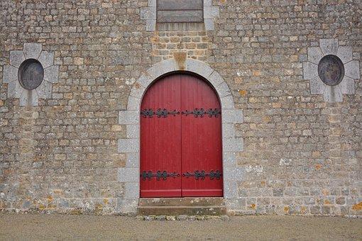 Red Portal, Portal Church, Buildings, Stones