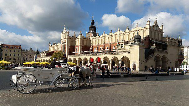 Kraków, Cloth Hall Sukiennice, History, Old Town