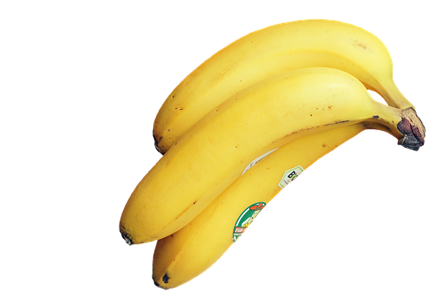 Banana, Fruit, Food, Yellow, Vitamins, Healthy, Fruity