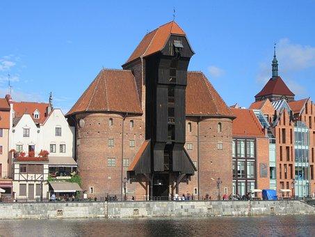 Gdansk, Crane, Middle Ages