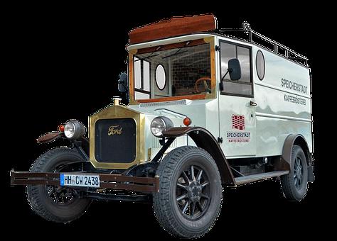 Ford, Truck, Hamburg, Speicherstadt, Coffee Roasting