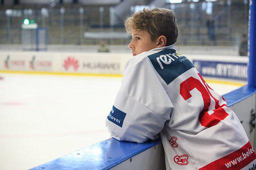 Hockey, Slavia, Skater, Hockey Player, Winter