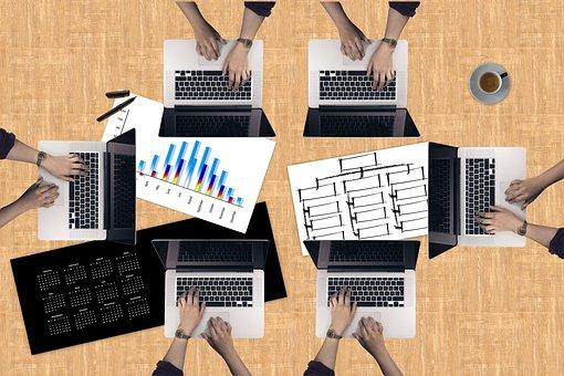 Laptop, Hands, Planning, Office, Develop, Development