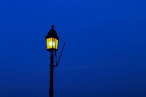 Street Light, Lamp, Night, Light, Street, City, Lantern