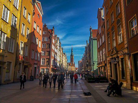Gdańsk, The Town Hall, Old Town, The Market