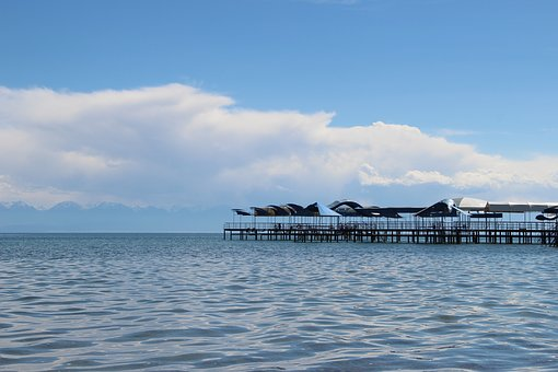 Issyk Kul, Pierce, Clouds
