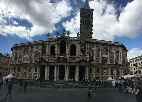 Italy, Piazza Del Sol, Sky, Old, Architecture, Europe