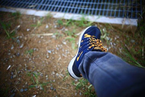 Sneaker, Foot, Thong