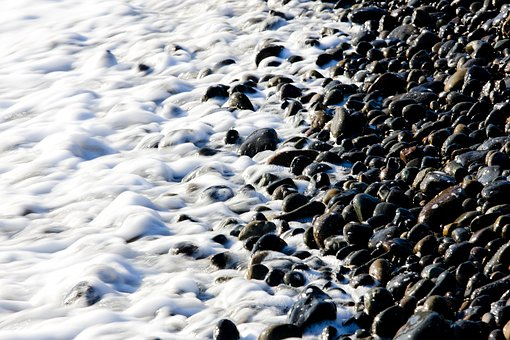 Gravel, Weeks Ago, Bathing Beach, Ulsan