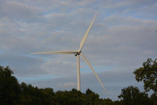 Wind Turbine, Energy, Electricity, Wings, Wind